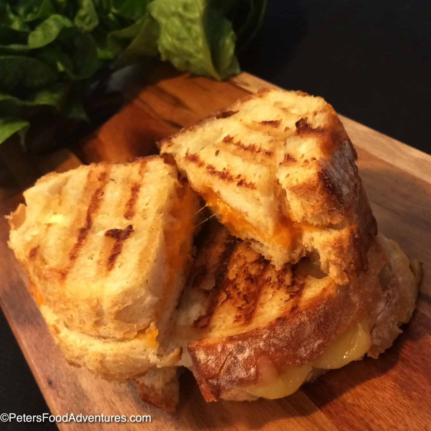 The Secret to Crispy Grilled Cheese Sandwiches - Peter's Food ...