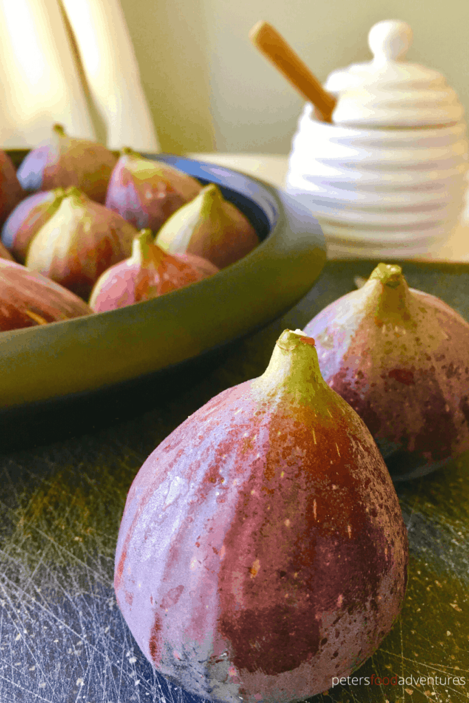 Roasted Figs with Honey is a delicious and easy fresh fig dessert, served warm over vanilla ice cream or frozen Greek yogurt, that is sure to impress.