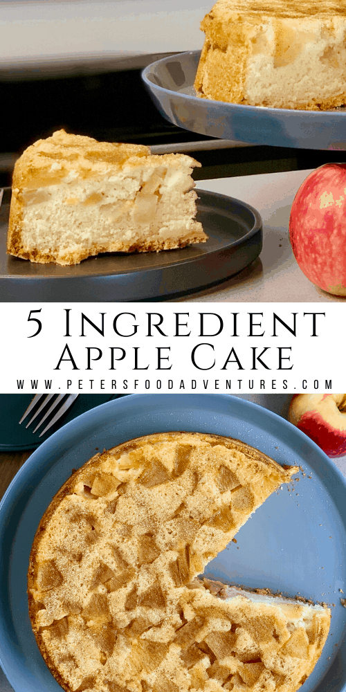 Szarlotka 5 ingredient Apple Sharlotka Cake (Шарлотка)
