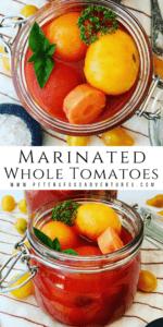Marinated Whole Tomatoes