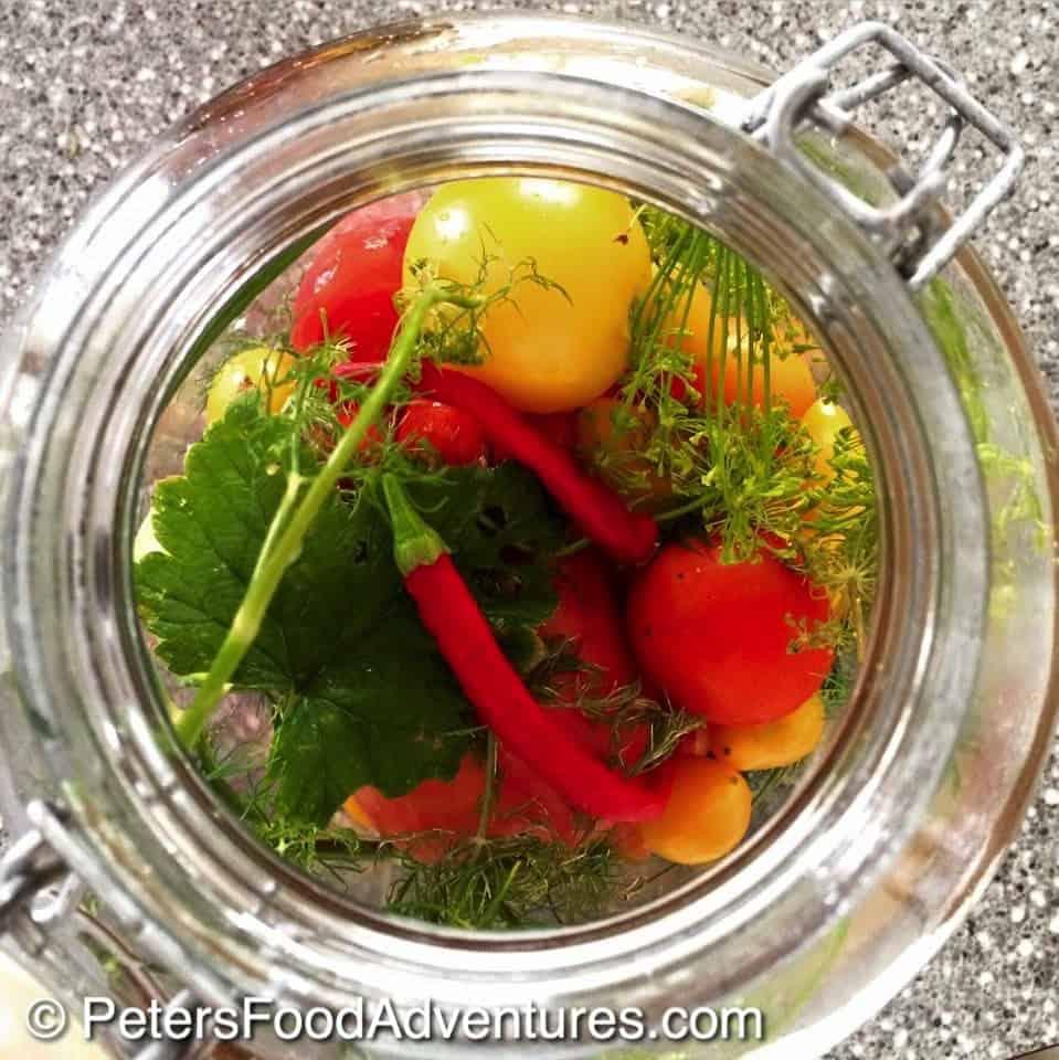 Salted Pickled Fresh Tomatoes (малосольных помидоры)