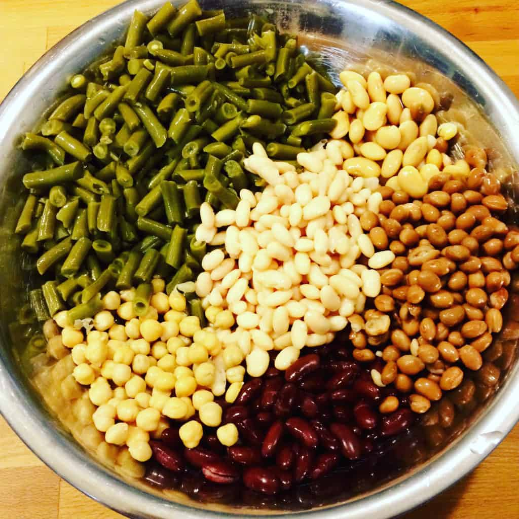 Canned Beans for Bean Salad