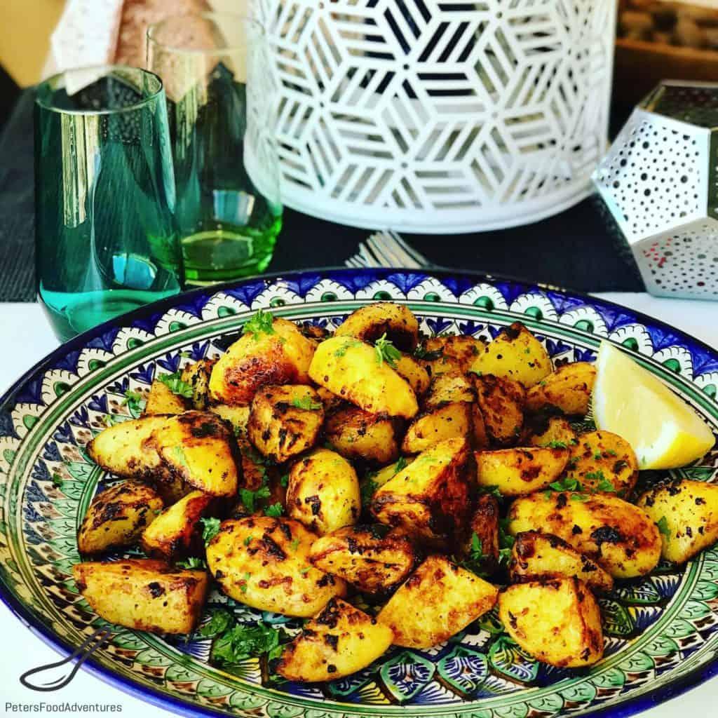 Moroccan Crispy Roasted Potatoes