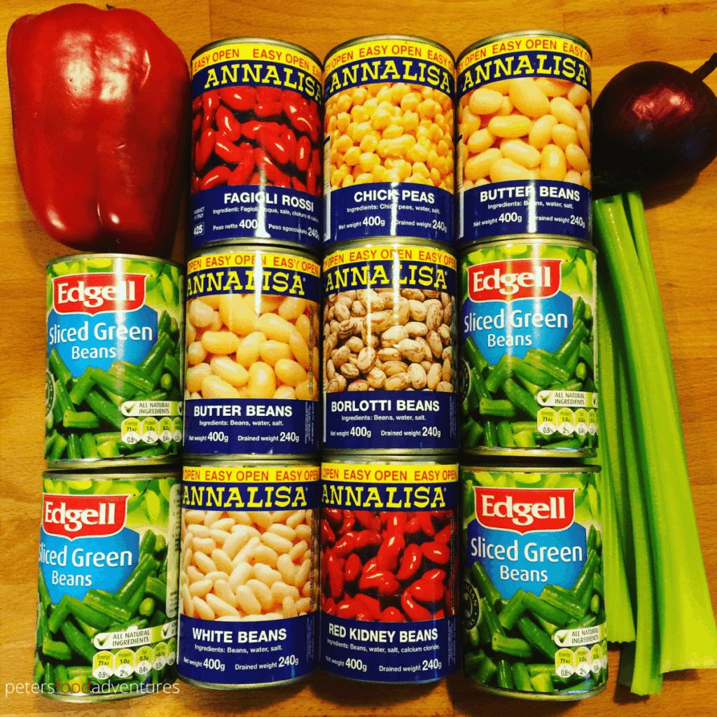 bean salad canned ingredients