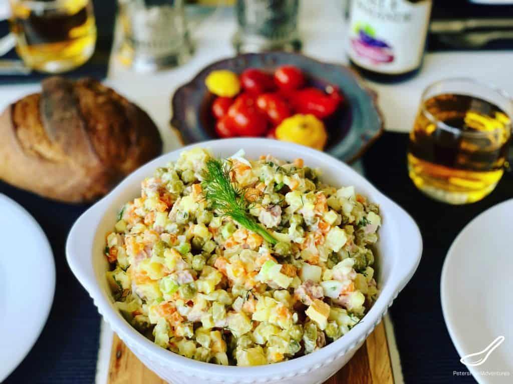 Olivier Salad (салат Оливье)