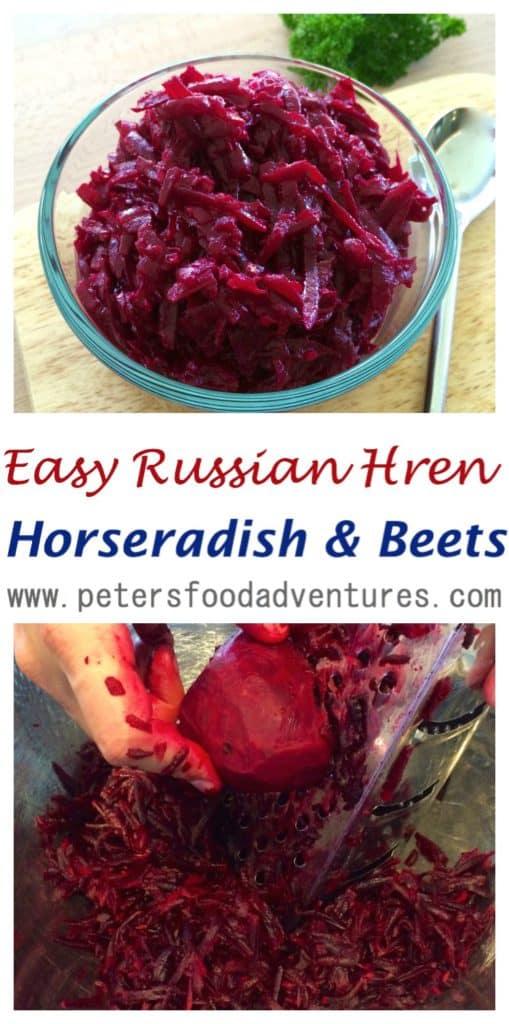 Hren Horseradish and Beets