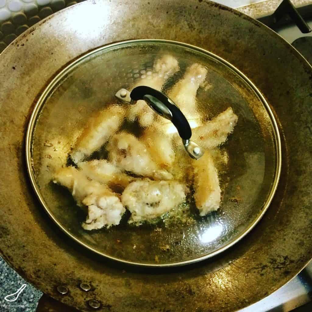 chicken wings wok