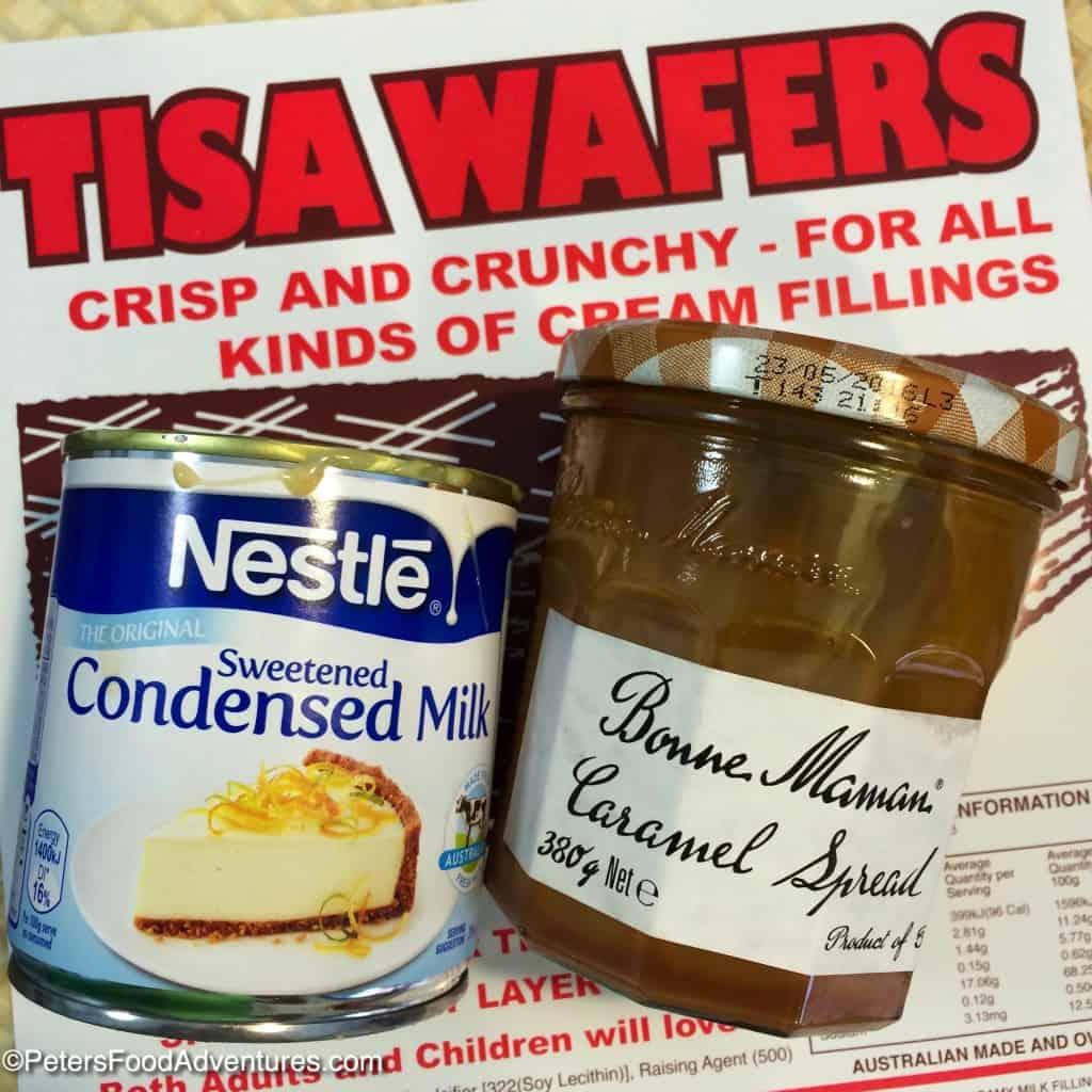 wafer cake ingredients