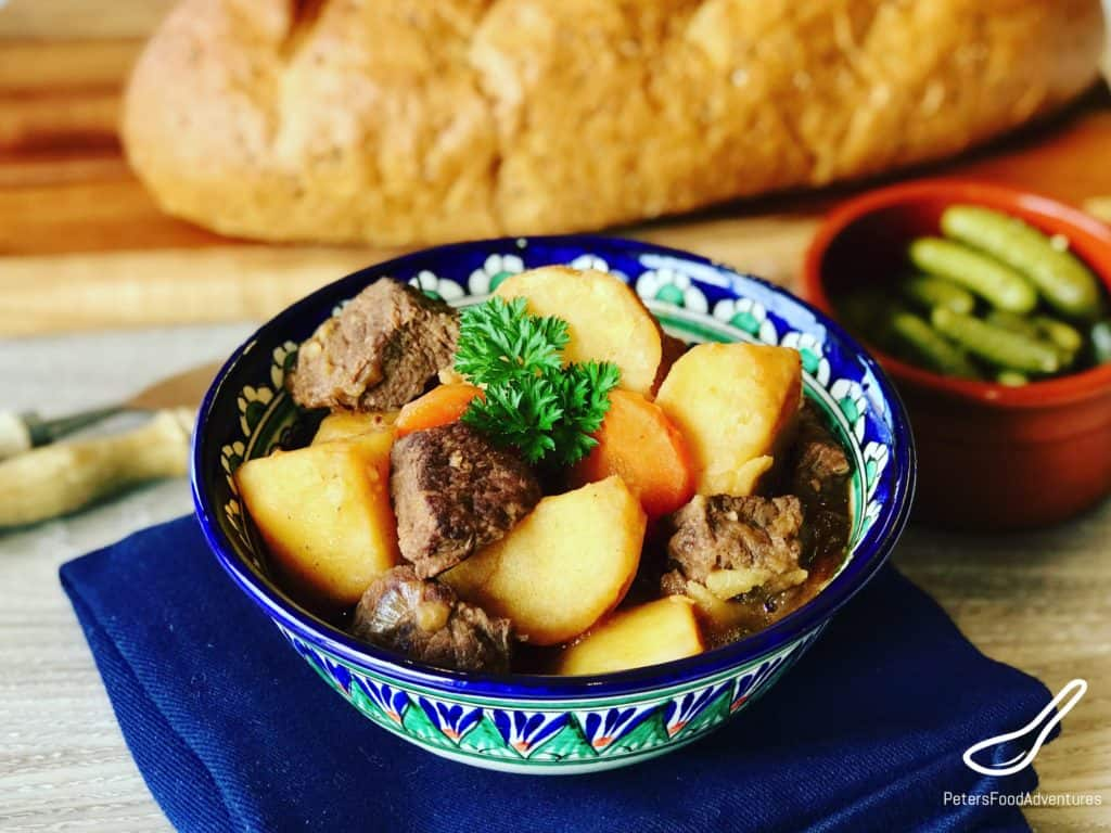 Beef and Potatoes Stew Kavardak (Кавардак)