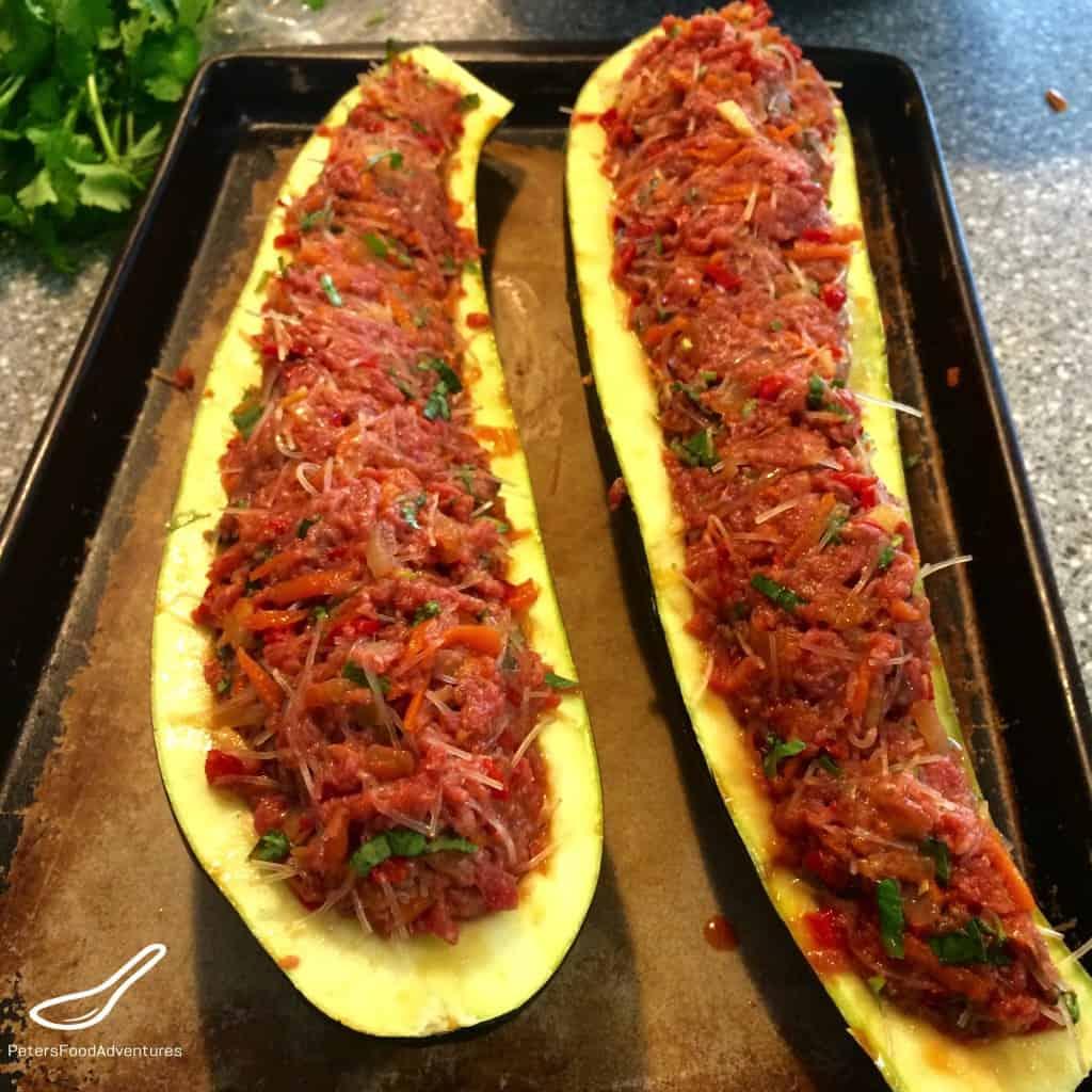 Thai Meatloaf Zucchini