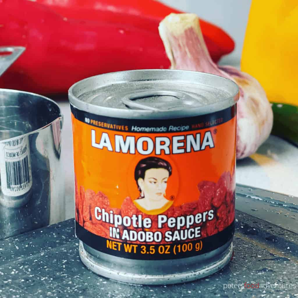 can of la morena chipotle peppers in adobo sauce