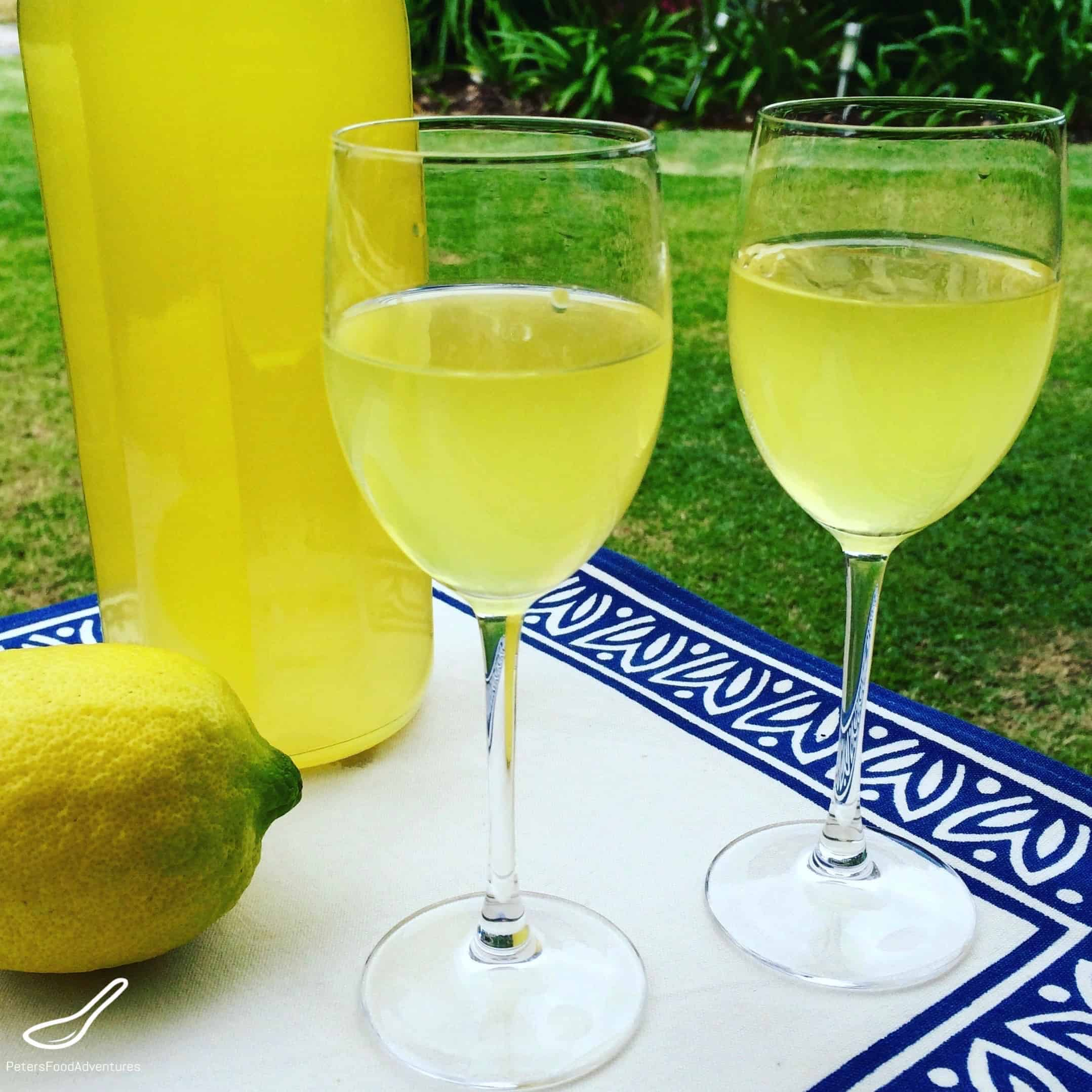 Homemade Limoncello Peter S Food Adventures