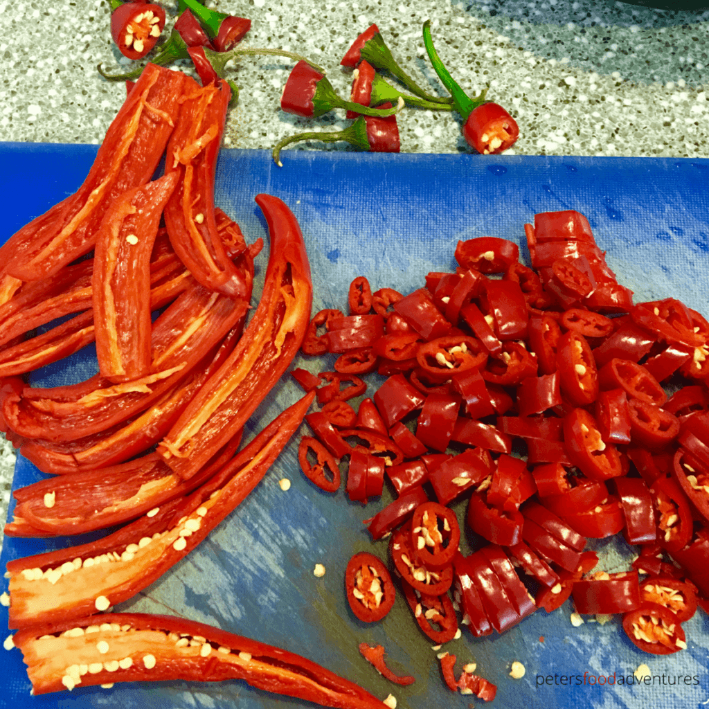hot peppers for thai chili sauce