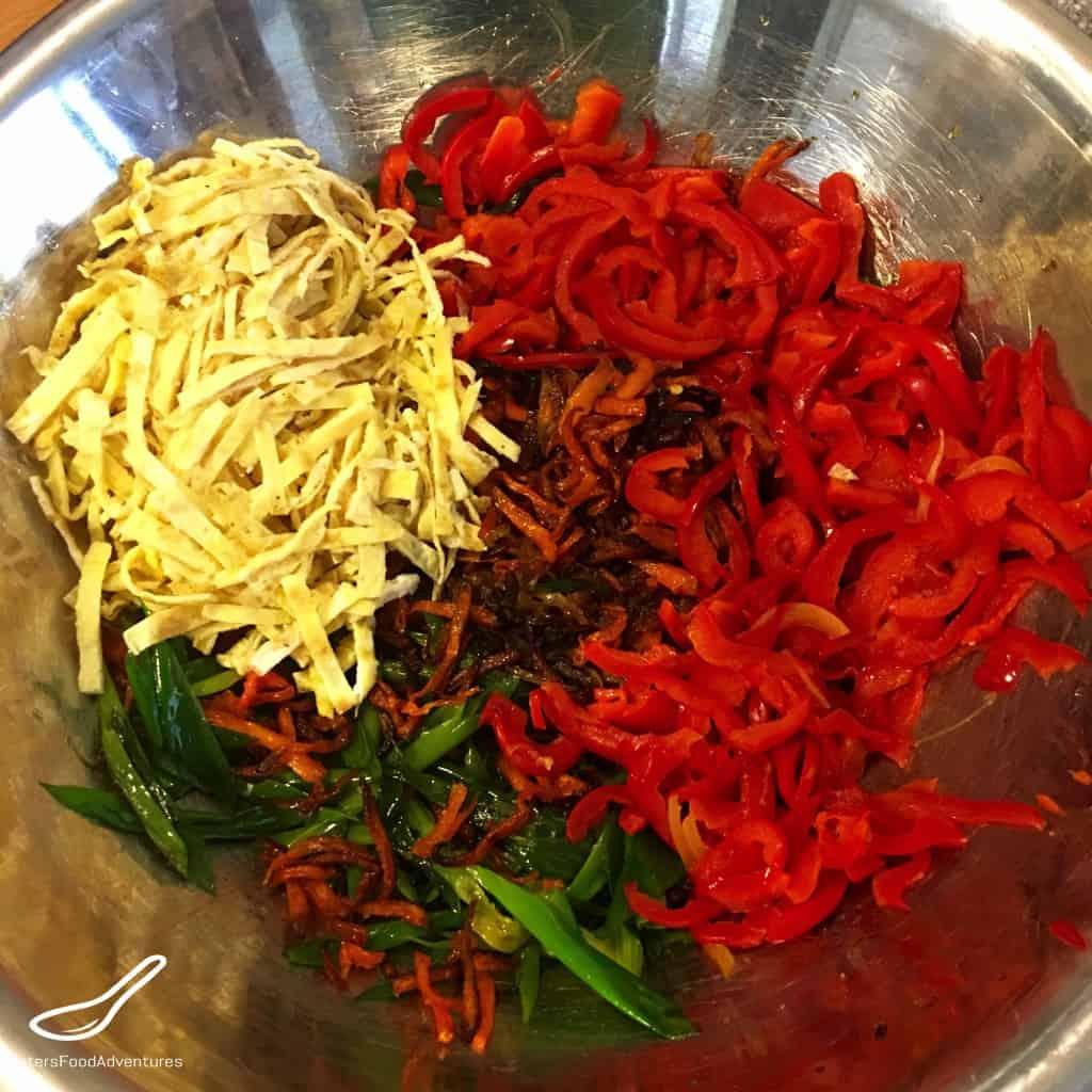 Funchoza Recipe (Фунчоза)