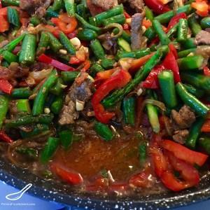 Laghman Stir Fry Vegetables