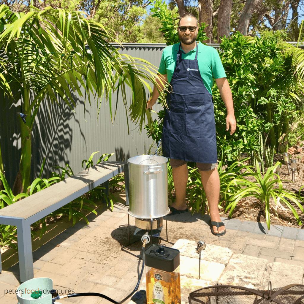 turkey deep fry setup australia