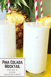 This family favorite Pina Colada recipe reminds me of summer vacation. So easy to blend fresh pineapple juice and coconut milk, Tropical memories in 5 minutes! Virgin Piña Colada Mocktail