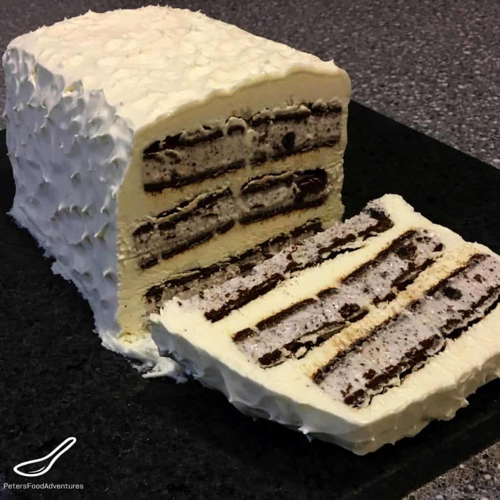 Chocolate Bar Ice Cream Cake