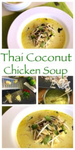 Easy Tom Kha Gai (Thai Coconut Chicken Soup) An easy to make recipe, authentic and delicious made with coconut milk. A Thai classic that's ready to eat in 30 minutes!