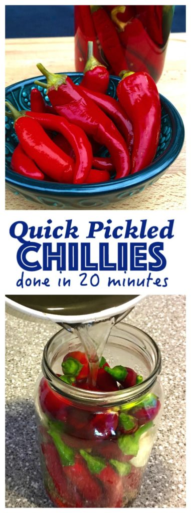 Quick Pickled Chillies Recipe