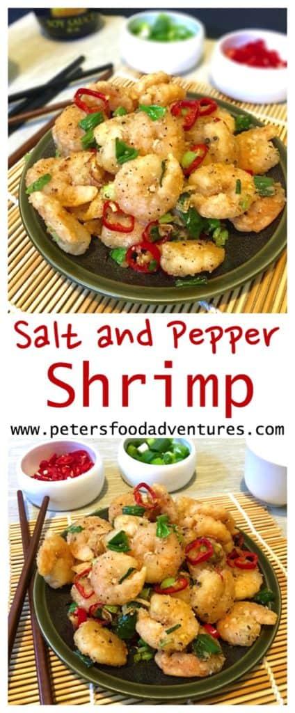 Salt and Pepper Shrimp Recipe (no shell)