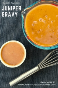 Juniper Berry Gravy