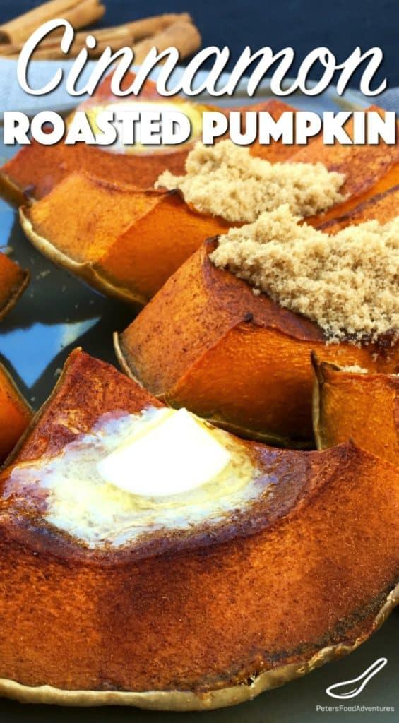 Cinnamon Roasted Pumpkin Recipe (сладкая запеченная тыква)