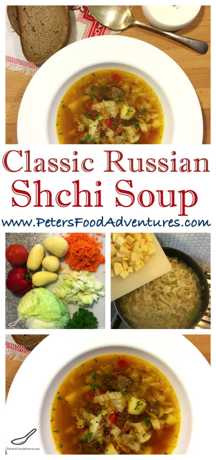 Delicious and easy to make. I love eating this hearty and warming autumn favourite. Shchi - Russian Cabbage Soup (Щи)