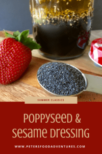 Poppy Seed and Sesame Vinaigrette