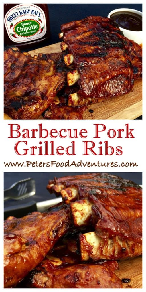 Delicious Boiled then Grilled Barbecue Ribs That Saves Time And Adds Flavour! Bbq Pork Ribs Recipe