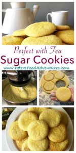 Everyone loves a Sugar Cookie, these are no exception! The perfect mix of buttery goodness, with eggs, vanilla and sugar, just like babushka made. Perfect with a cup of tea or glass of milk. - Russian Sugar Cookies (Молочные коржики)