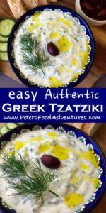 Greek Tzatziki Sauce in a bowl