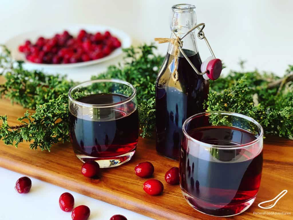Homemade Cranberry Juice - Mors Drink