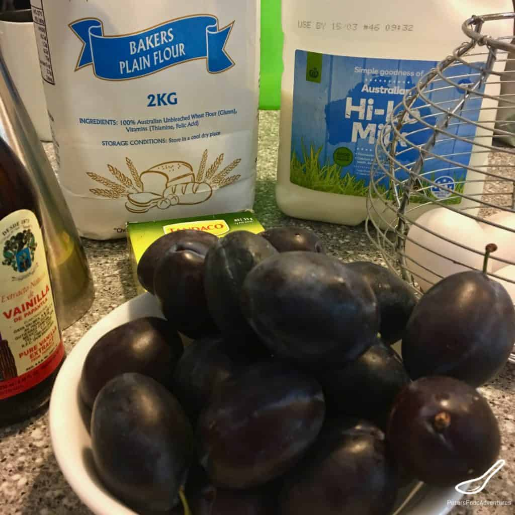 prune plums in a bowl