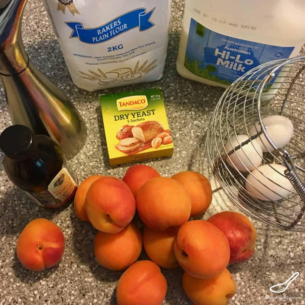 Apricot jam slice ingredients