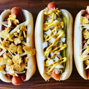 Hot Dog Toppings - Chili Dogs and Sauerkraut Dogs