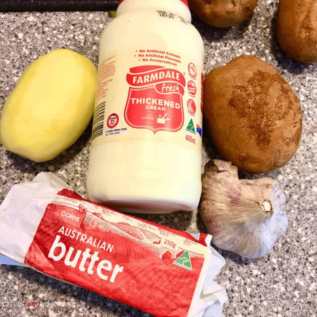 garlic mashed potatoes ingredients