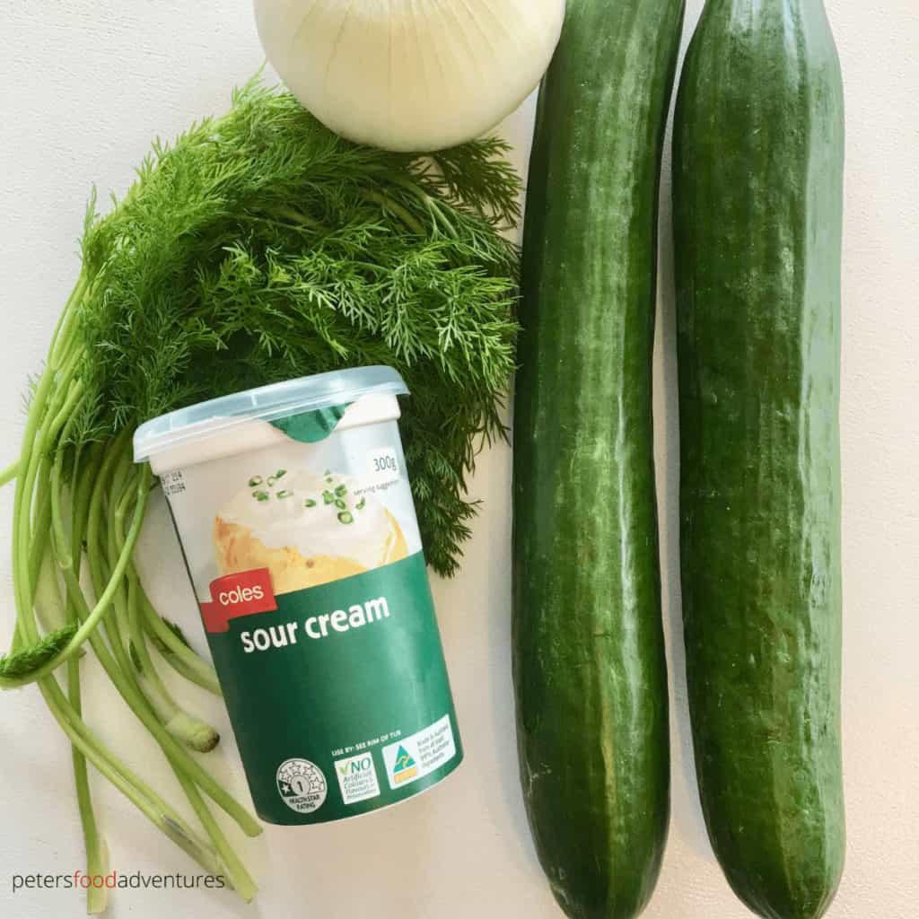 mizeria ingredients