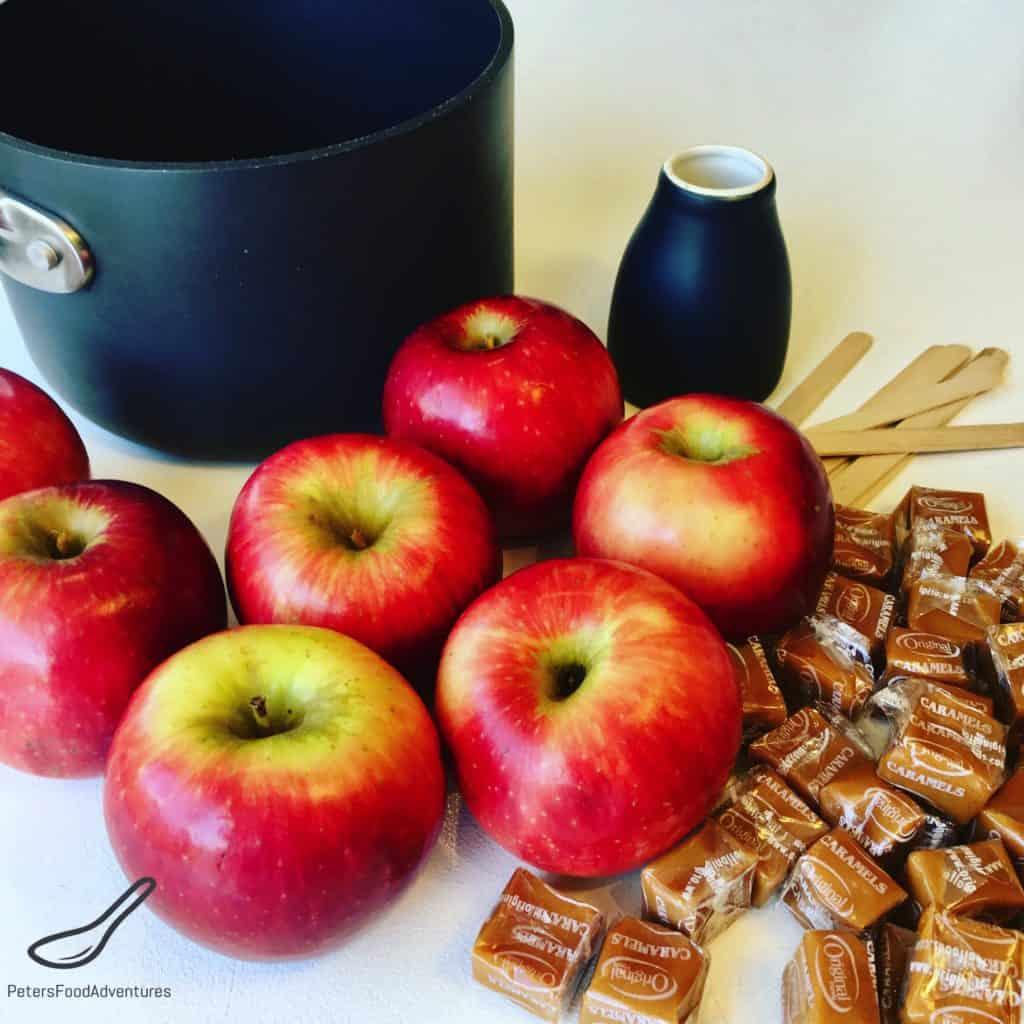 Caramel Apples Ingredients