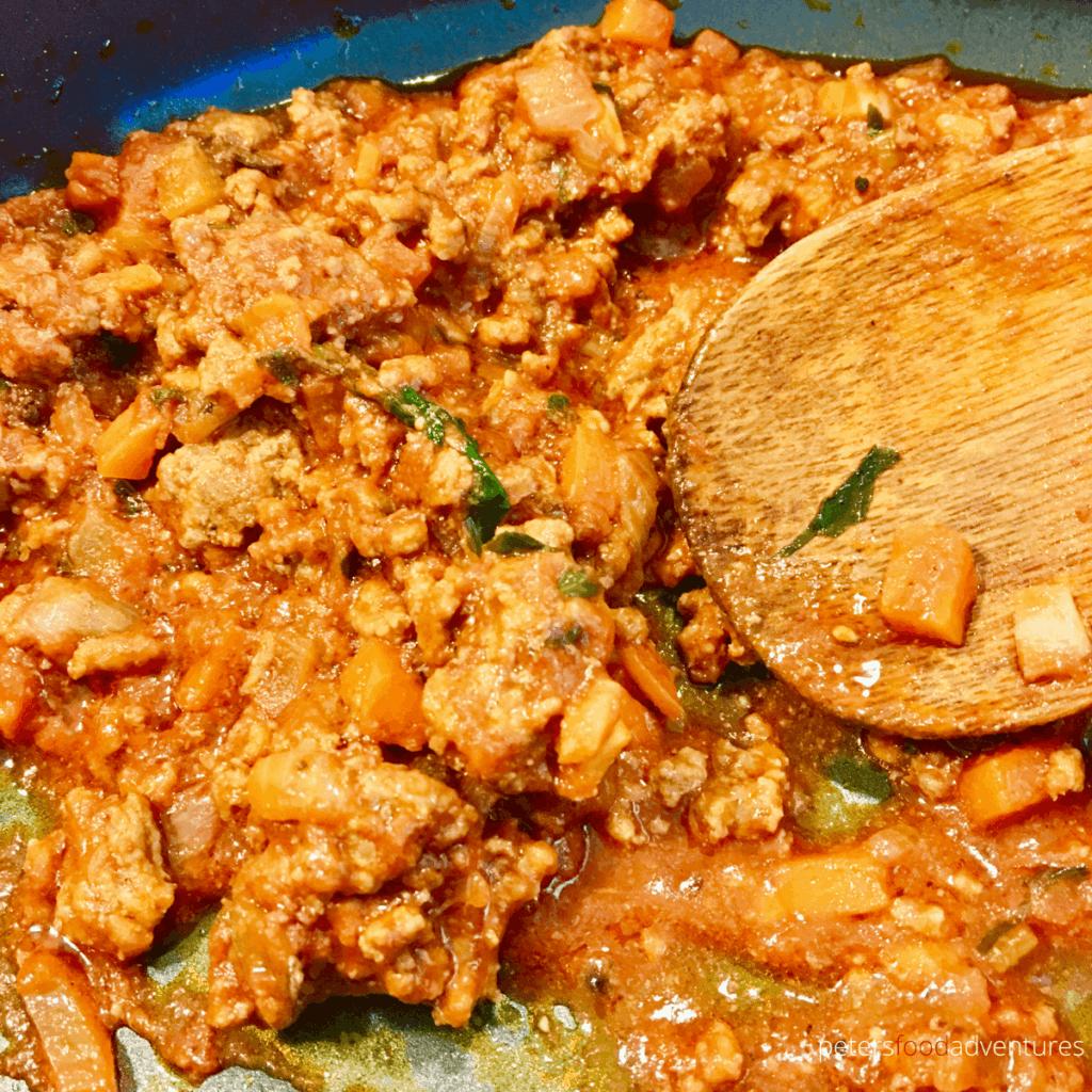 lasagna meat sauce