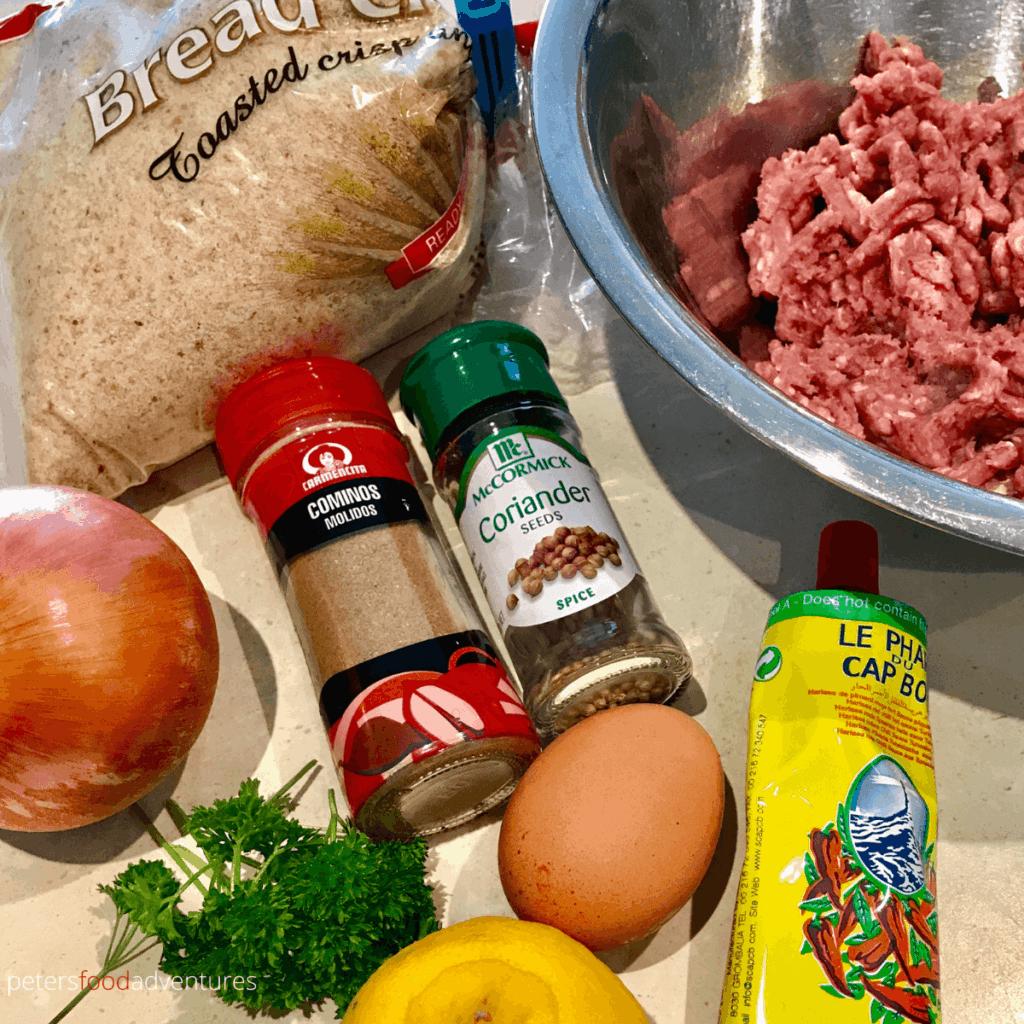 kofta ingredients