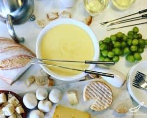 Swiss cheese Fondue recipe