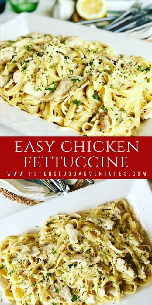 Perfect for a weeknight or weekend dinner, this family dinner favorite is so easy to make! Caramelized onions, smothered in cream, milk, stock and parmesan cheese. A healthier lower fat recipe, but you'd never know it! Chicken Fettuccine Alfredo Recipe