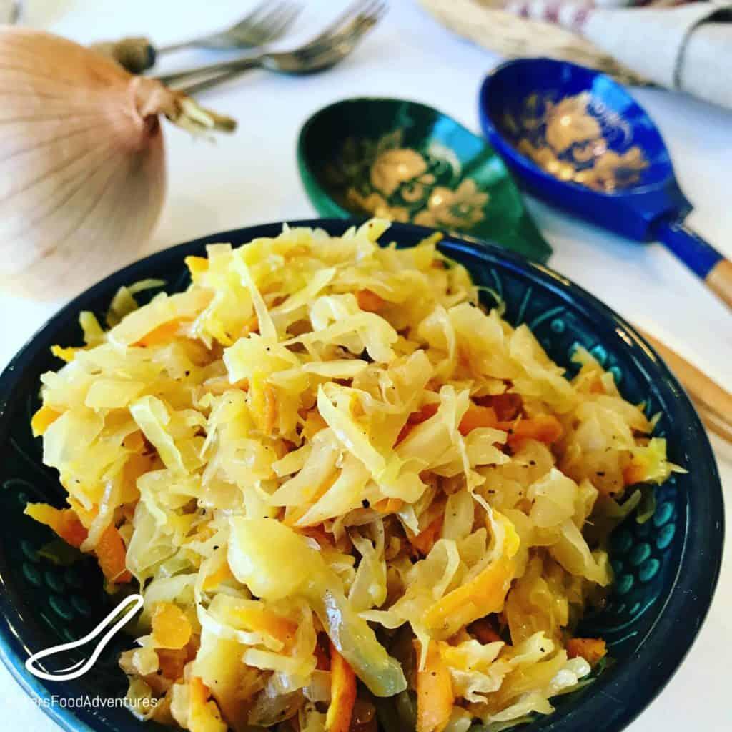 Braised Cabbage (Тушеная капуста)