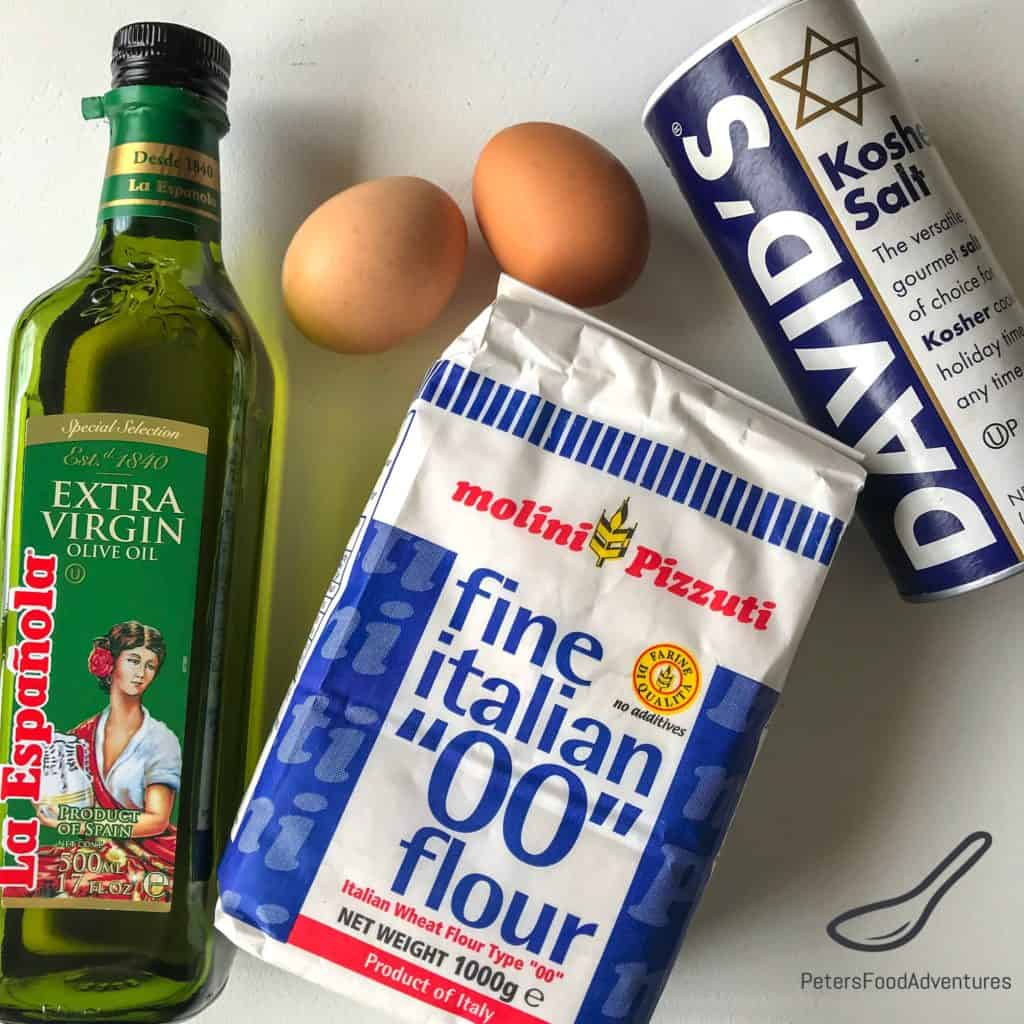 Pierogi dough ingredients