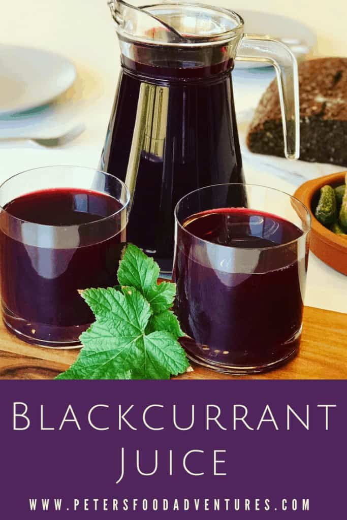 A delicious homemade juice from pressed blackcurrants and cranberries called Mors. Enjoyed in Russia for over 500 years. Full of vitamins and antioxidants. Nothing beats homemade juice! Homemade Juice (Mors)