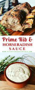 Roasted Prime Rib Recipe, tender and juicy, cooked perfectly at medium-rare. A Standing Rib Roast that's simple and delicious!