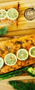 Cedar Plank Trout recipe
