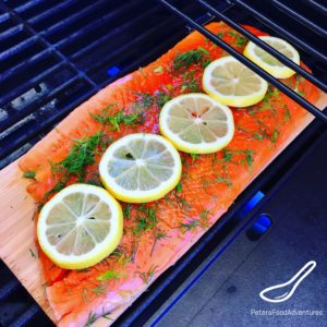 Grilling Trout Fillet on Cedar Planks