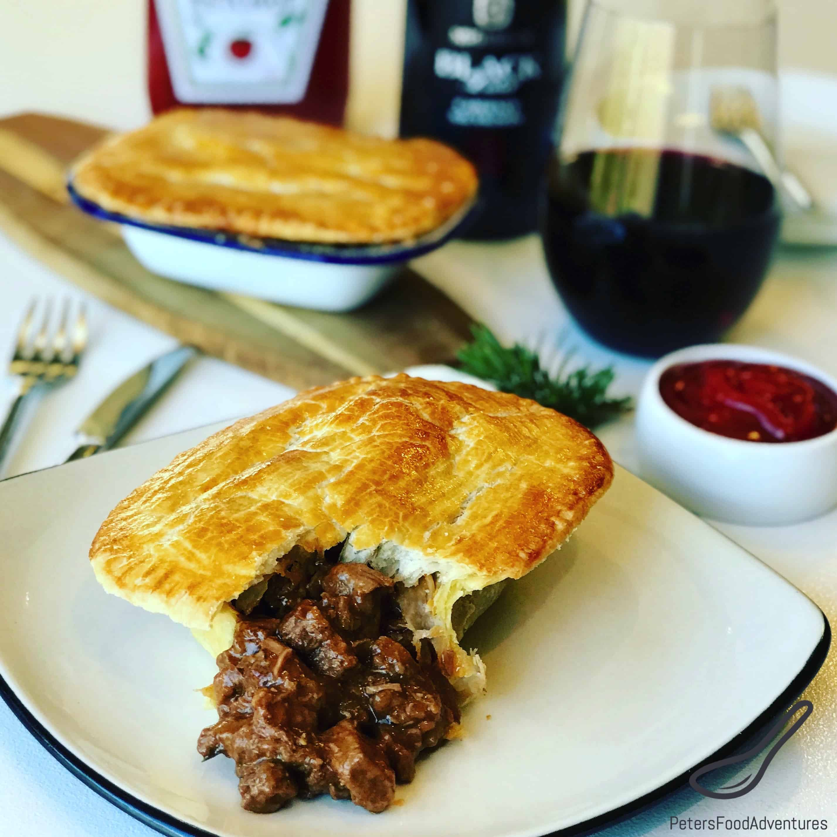 Australian Meat Pie Recipe Peter S Food Adventures